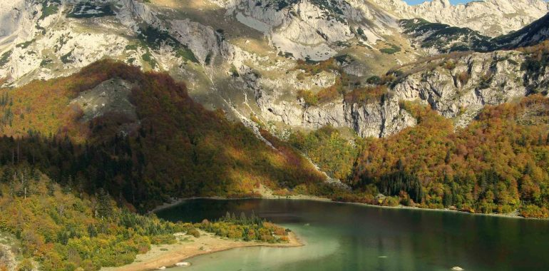 Montenegro and its immediate surrounding are the most intense part of the Via Dinarica trail